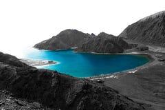 Baie de fjords Images libres de droits