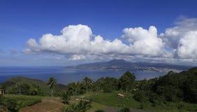 Baie de Fort de France, La la Martinique, Antilles Image libre de droits