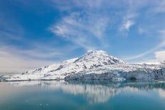 Baie de glacier Photo stock
