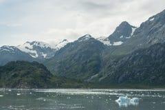 Baie de glacier, Alaska Photo libre de droits