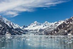 Baie de glacier, Alaska Images libres de droits