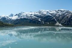 Baie de glacier de l'Alaska Photographie stock