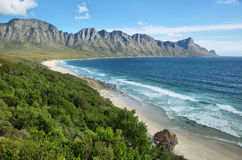 Baie de Gordons près de Cape Town Photos libres de droits