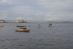 Baie de Guanabara en Rio de Janeiro, Brésil photo stock