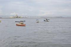 Baie de Guanabara en Rio de Janeiro, Brésil photos stock