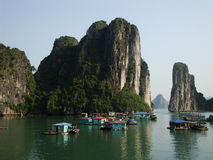 Baie de Halong Photo stock