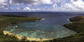 Baie de Hanama Photo stock
