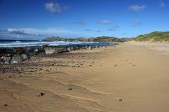 Baie de Hogh, île de Coll Images libres de droits