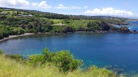 Baie de Honolua à Kapalua, Maui Photos stock
