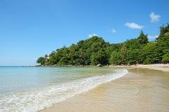 Baie de Kamala en île Phuket de la Thaïlande Image stock