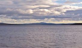Baie de Kandalaksha de mer blanche Images stock