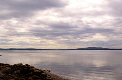 Baie de Kandalaksha de mer blanche image stock