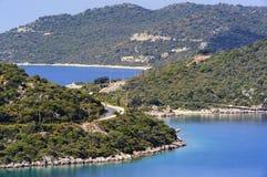 Baie de Kas Marina en Turquie Photographie stock