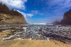 Baie de l'Orégon Images libres de droits