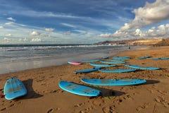 Baie de La épluchée, Fuerteventura, Îles Canaries Photos libres de droits