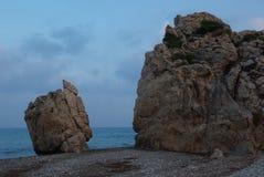 Baie de la Chypre Afrodita photo libre de droits