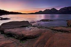 Baie de la Tasmanie Coles 02 hausses Photo stock