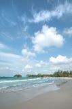 Baie de Lagoi, Bintan, Indonésie Photos libres de droits