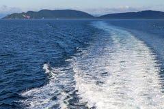 Baie de lomprayah de l'Asie myanmar photo libre de droits