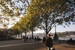 Baie de Londres Photographie stock libre de droits