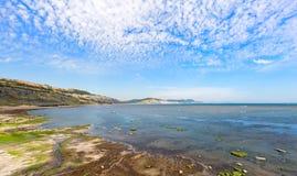 Baie de Lyme Images stock