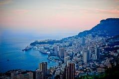 Baie de Mónaco Foto de archivo