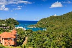 Baie de Marigot Images libres de droits