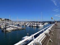 Baie de marina de Torquay Photos stock