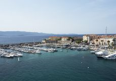 Baie de mer d'Ajaccio Photographie stock