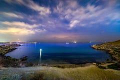 Baie de Mgiebah photo stock