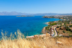 Baie de Mirabello. Crète, Grèce Photographie stock libre de droits