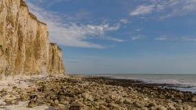 Baie de moines, le Sussex est, R-U photos stock