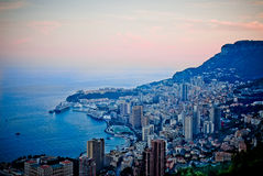 Baie de Monaco Stock Photo