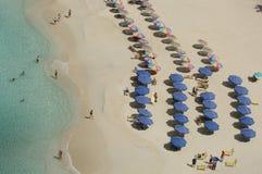 Baie de Mulet - St Martin - Sint Maarten Image stock