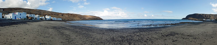 Baie de nègre de Pozo Photo libre de droits