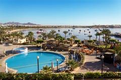 Baie de Naama dans le Sharm el Sheikh Image libre de droits
