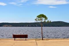 Baie de Navarino Photos libres de droits