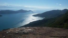 Baie de Paraty, Paraty, Brésil Image stock