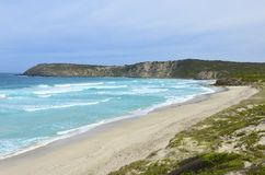 Baie de Pennington, île de kangourou Photos libres de droits