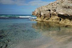 Baie de Pennington, île de kangourou, Australie images libres de droits