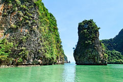 Baie de Phang Nga Photographie stock