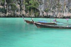 Baie de Phi Phi, Thaïlande Photographie stock libre de droits