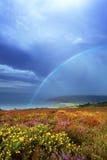 Baie de Porlock images libres de droits