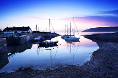 Baie de Porlock Photo stock