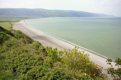 Baie de Porlock Photos stock