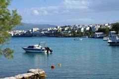 Baie de Rethymnon Photographie stock libre de droits