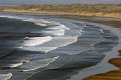 Baie de Rhossili, Gower, Swansea photographie stock libre de droits
