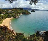 Baie de rupteur, stationnement national d'Abel Tasman, Nouvelle Zélande Images stock