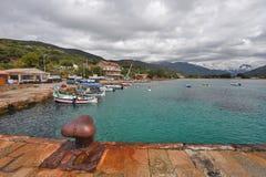 Baie de Sagone photographie stock libre de droits