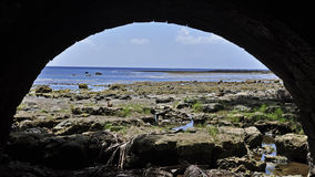 Baie de Sella Image libre de droits
